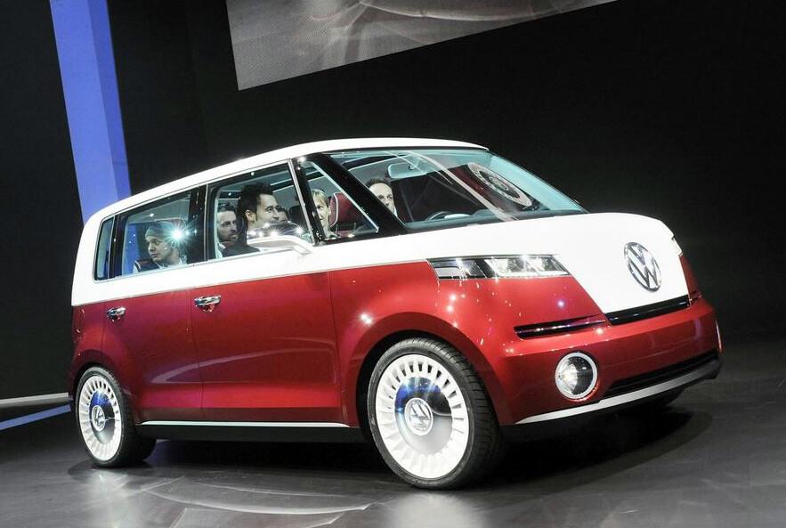 Sondermodell – Studie VW Microbus Bulli Der neue Bulli
