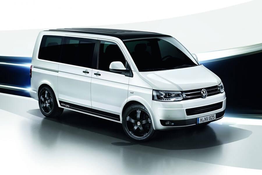 Sondermodell – Der VW T5 Multivan Edition 25
